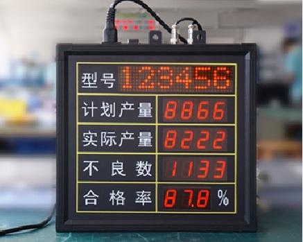 电子看板003-led电子看板|led电子时钟|led倒计时器